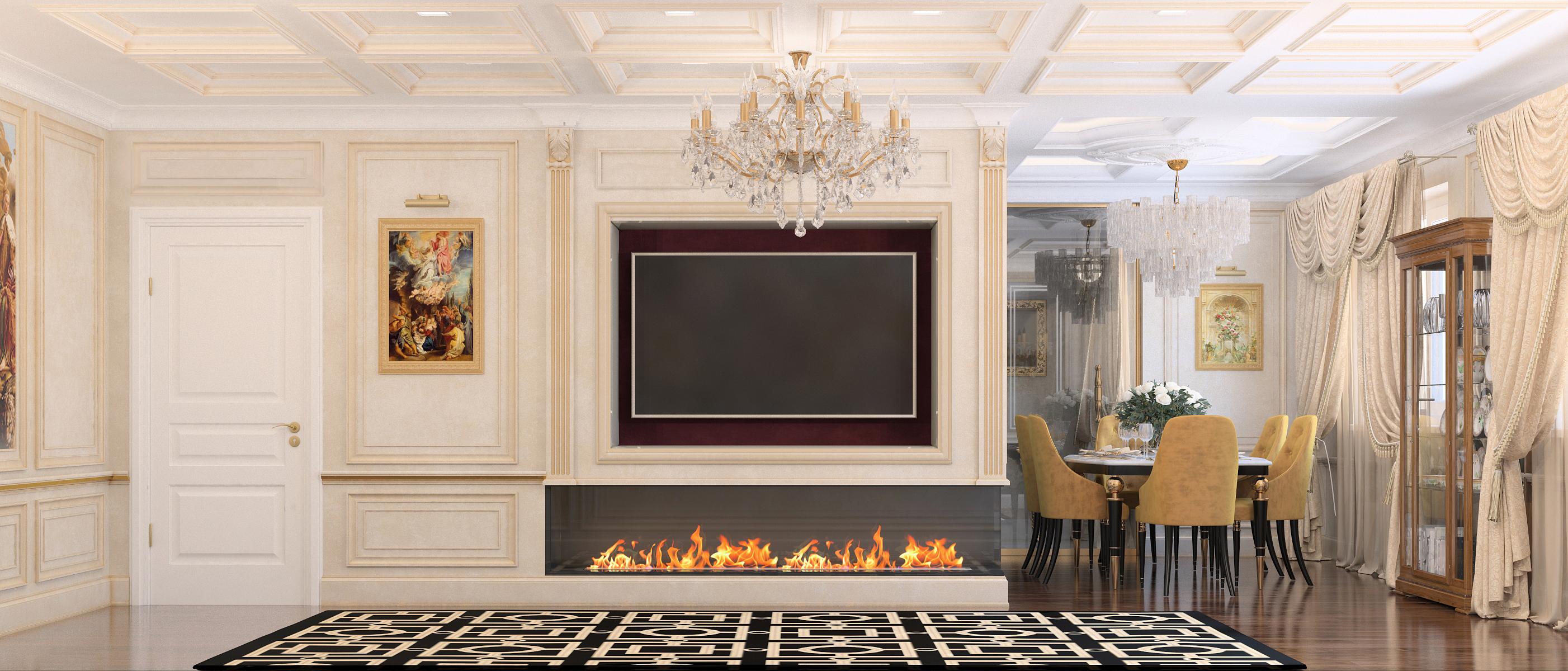 Ремонт четырёхкомнатной квартиры<br> пр. Победителей 133